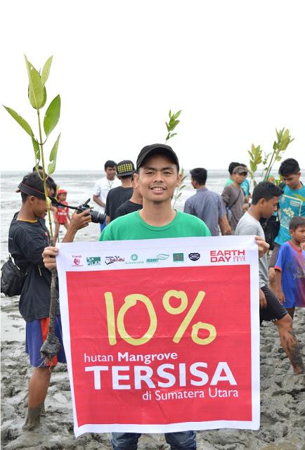 Sosok Muda Penyelamat Hutan Mangrovee