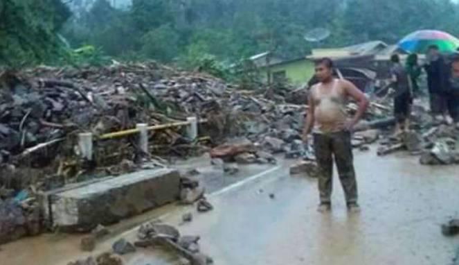 Banjir Bandang Hutan Leuser Terjang Ratusan Rumah di Aceh