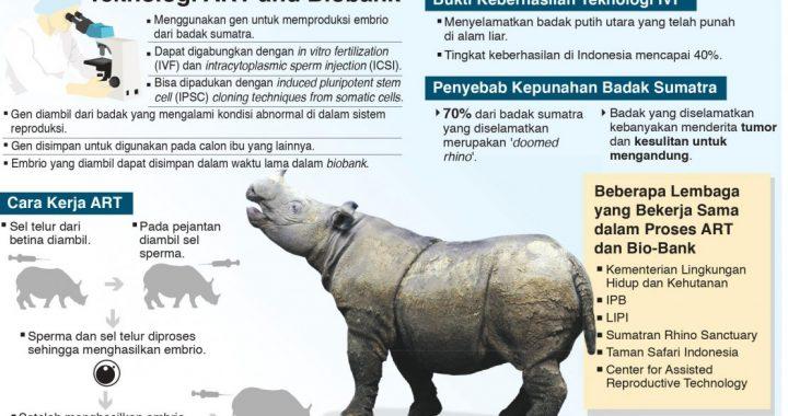 Menyelamatkan Sumber Genetik Badak Sumatra