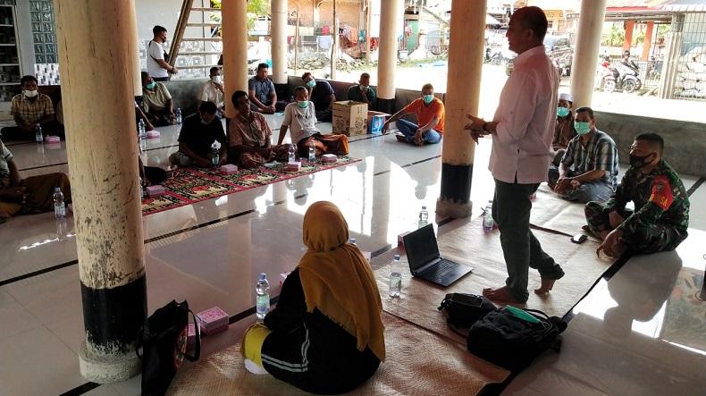 BKSDA Aceh Seksi Konservasi Wilayah I menggelar sosialisasi Tumbuhan dan Satwa Liar (TSL) yang dilindungi. (Foto: iNews/Jamal Pangwa)