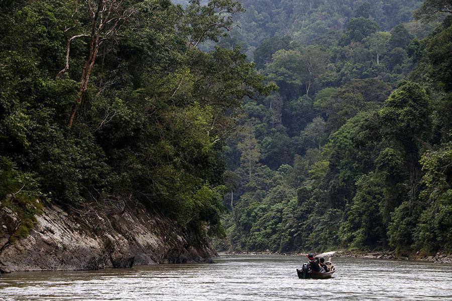 Sungai Alas-Singkil yang begitu memantang untuk susuri. Foto: Junaidi Hanafiah/Mongabay Indonesia