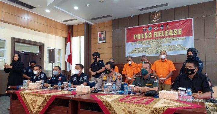 Empat Perusak Taman Nasional Kerinci Ditangkap
