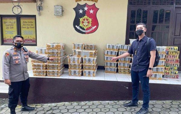 Polisi Gagalkan Pengiriman 2.057 Satwa Liar dari Bakauheni ke Banten